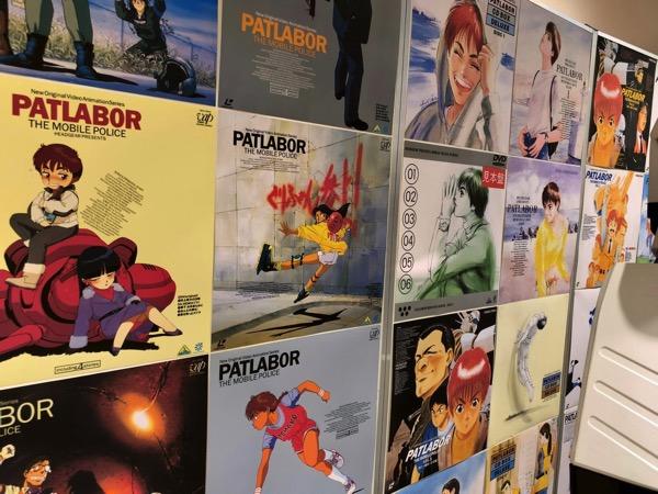 「機動警察パトレイバー」広告ポスター展