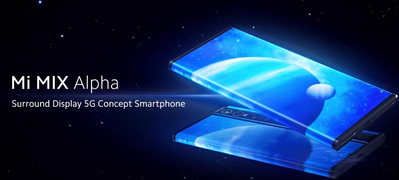 Xiaomiの「Mi Mix Alpha」