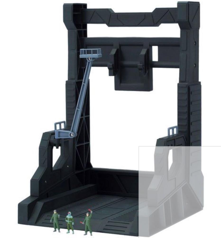ZEONIC TECHNICS(ジオニックテクニクス)専用ハンガーデッキ&フィギュアセット