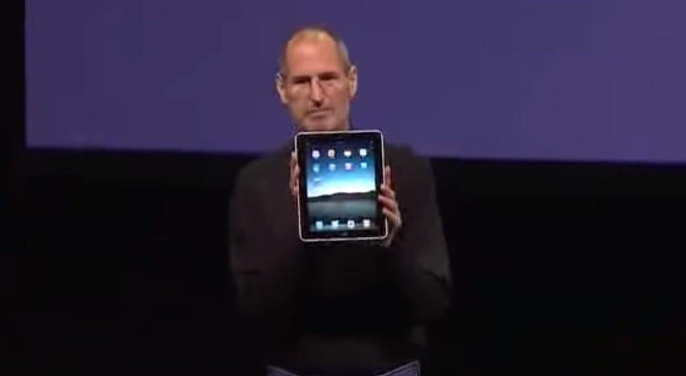 ジョブズ 初代iPad発表