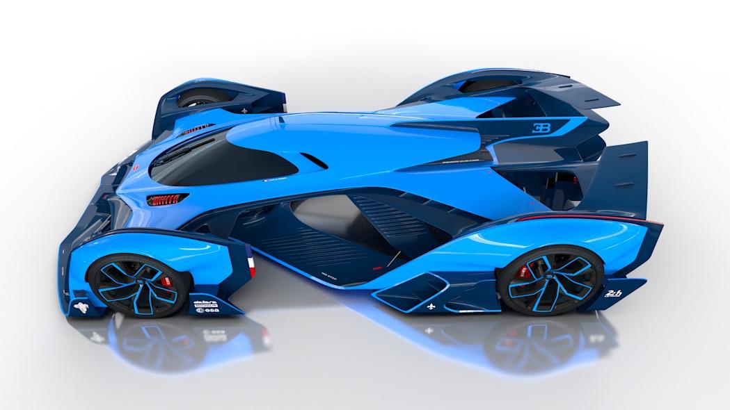 2050年のル・マンのレーシングカーのイメージデザイン