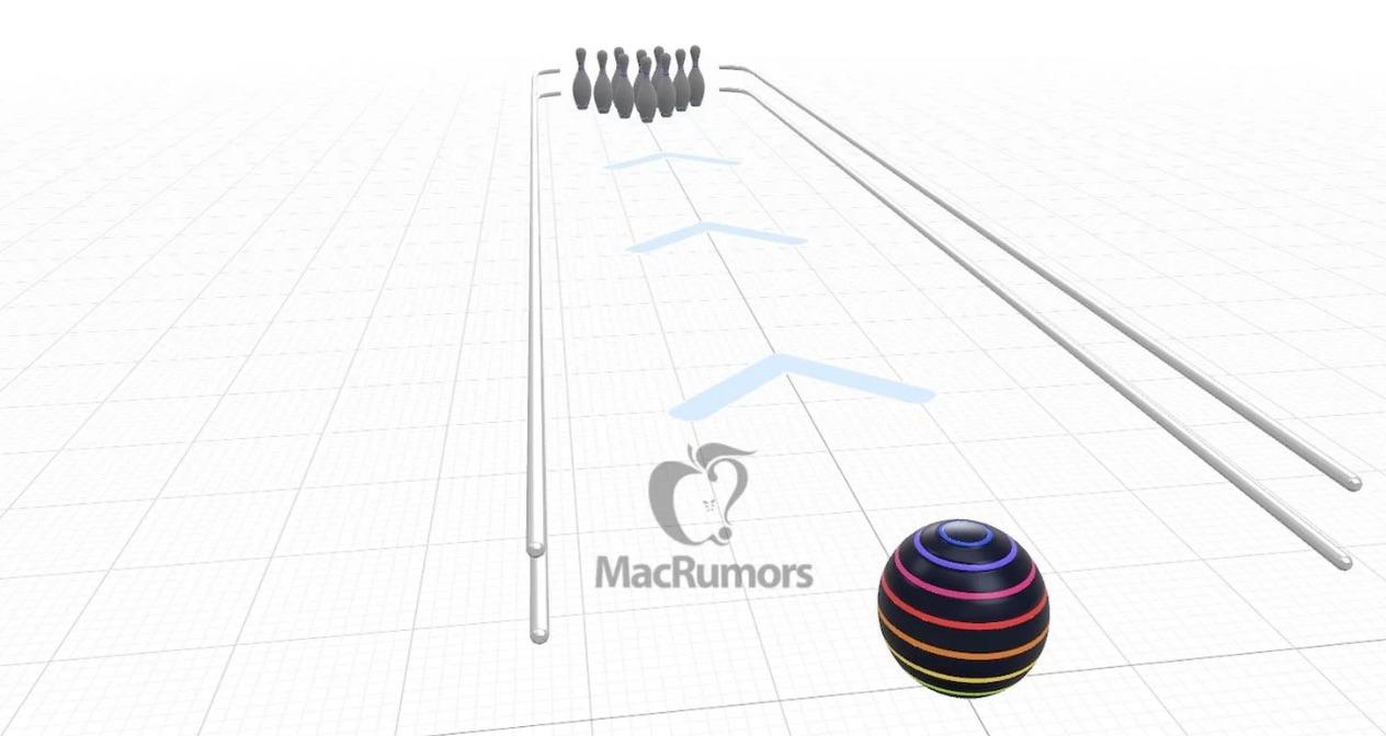AppleはARで遊べる実際の横断歩道で遊べるボウリングゲームをテストしている