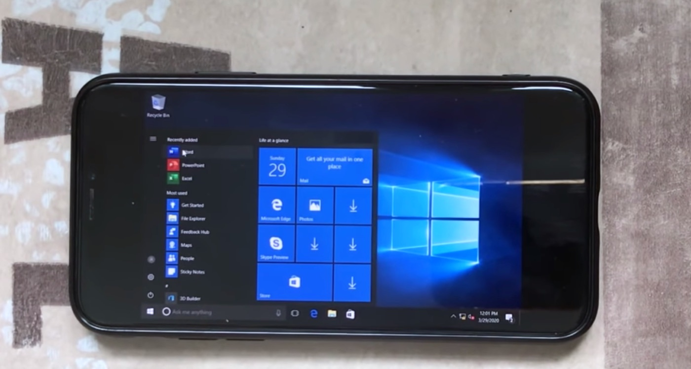 iPhone XでWindows 10が動くUTM