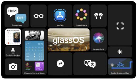 AppleのARグラスのOS「glassOS」コンセプトデザイン