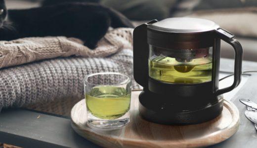 自分にあったお茶を淹れてくれるスマートティーポット「teplo ティーポット」