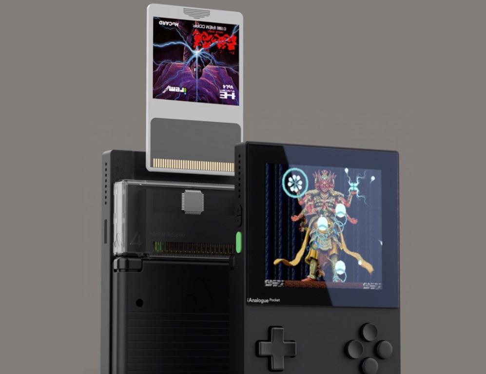 「Analogue Pocket」向けのHuカードアダプタ