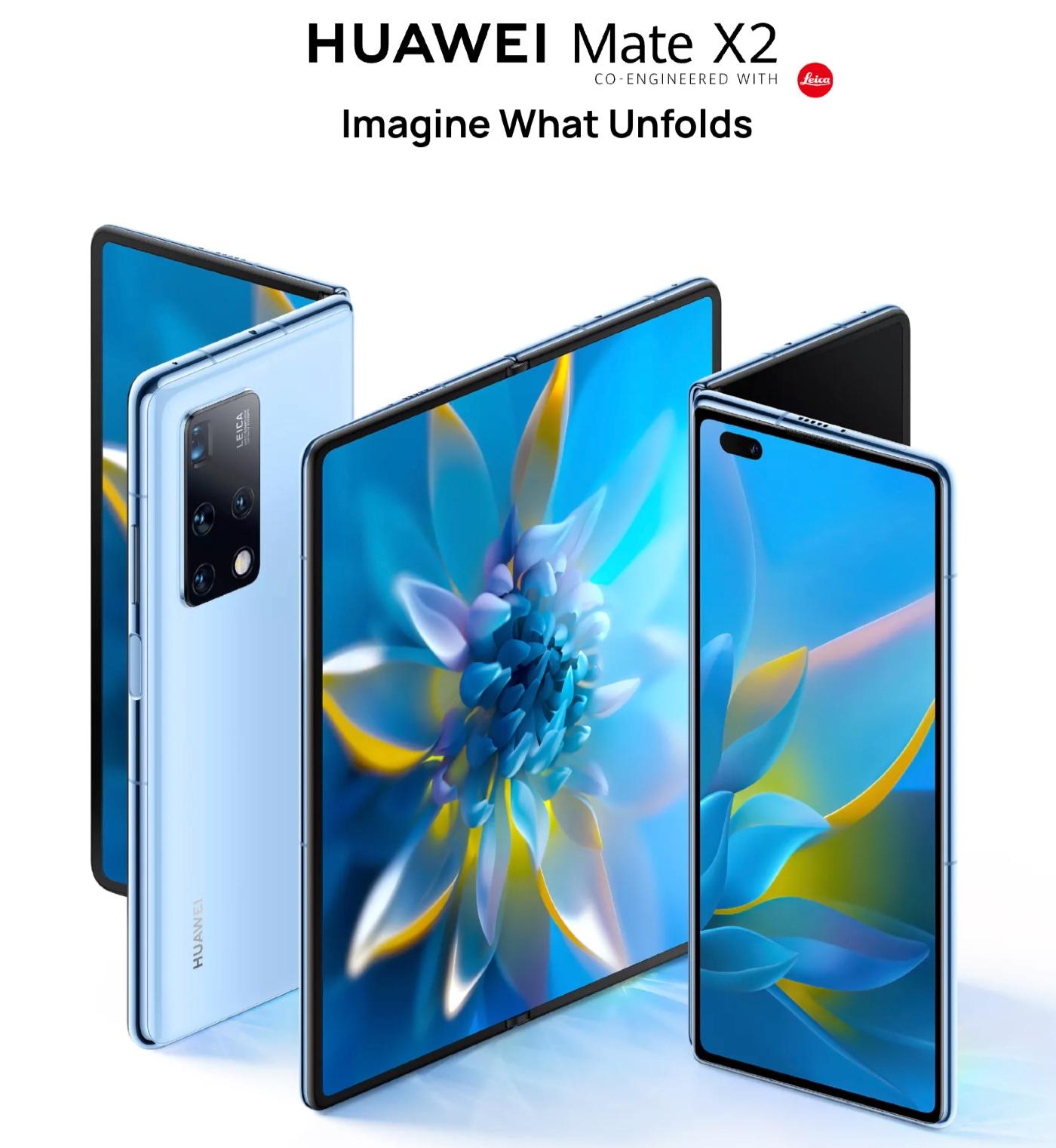 HuaweiがMate X2