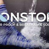 完全防水のソックス「NONSTOP」