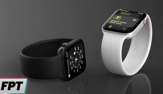 Apple Watch Series 7はよりフラットなデザインに?予想レンダリング画像が公開