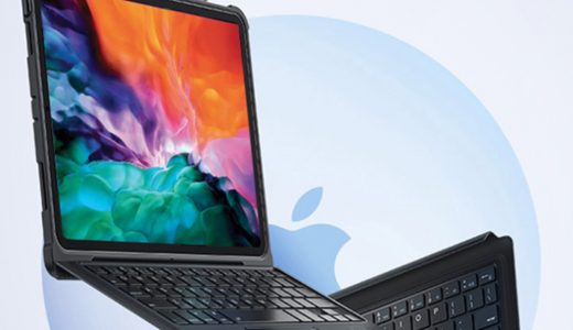 iPadがノートPCタイプになるキーボード付きケース「Benks」