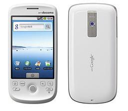 ドコモ Android携帯「HT-03A」ホワイト