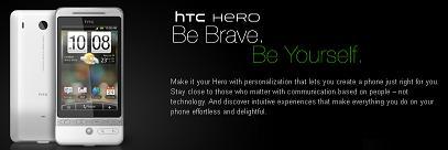 Android携帯「HTC Hero」